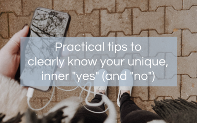 "Do you know Your ""Intuitive Yes?"""